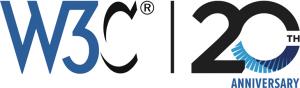 W3C 20th Anniversary logo