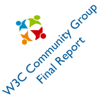 W3C Community Group Final Report Logo