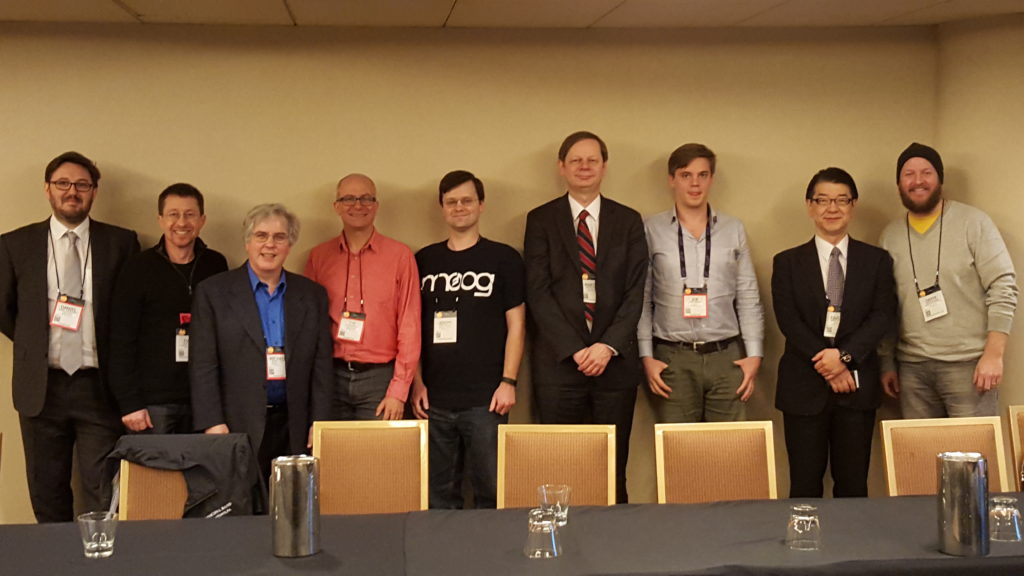 NAMM 2016 Music Notation Community Group Attendees